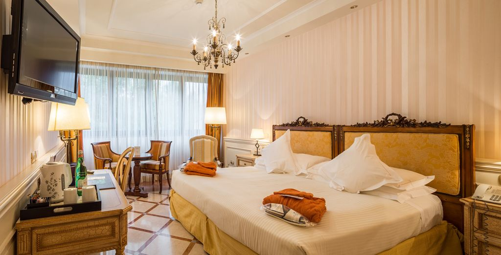 Where you can unwind in your comfortable Deluxe Room