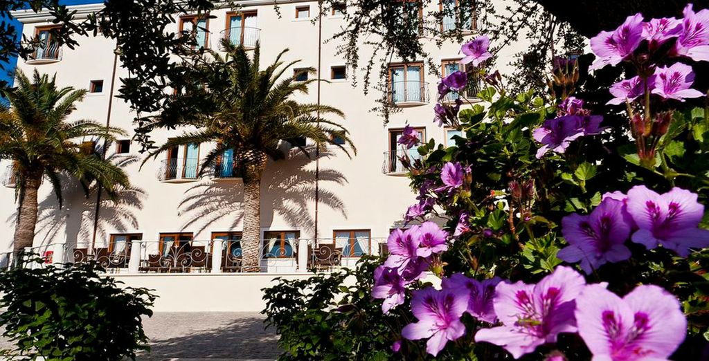Home to the charming Brancamaria Hotel