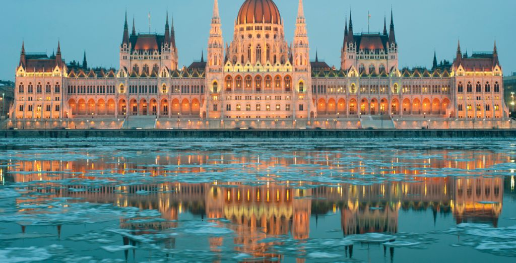 In historic Budapest
