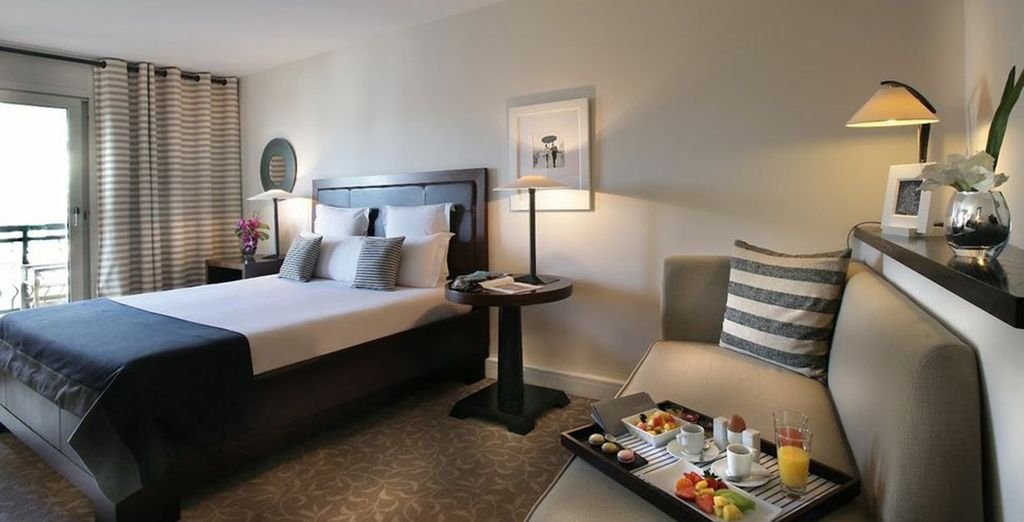 Our members will enjoy a stay in a Deluxe Room