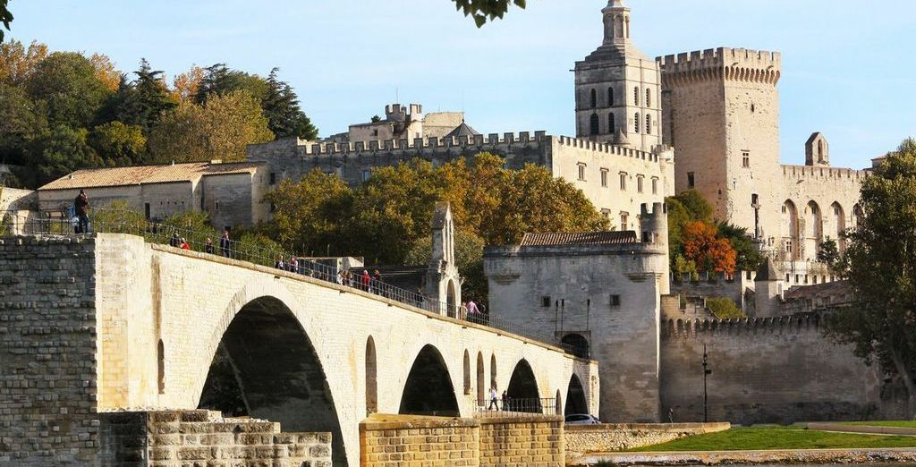Add car hire and explore quaint Medieval towns further afield