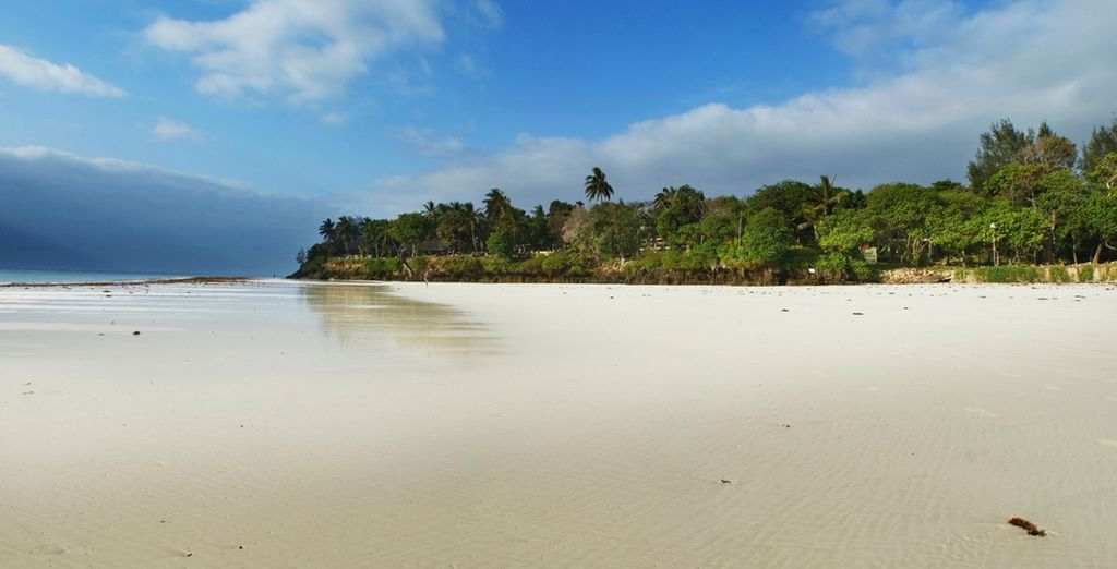 Or on famous Diani Beach