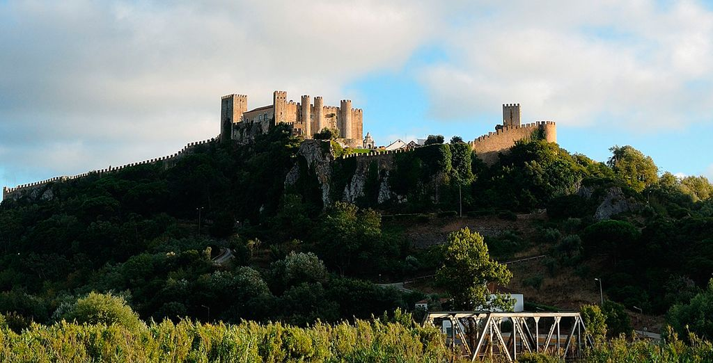 Head out to explore Obidos