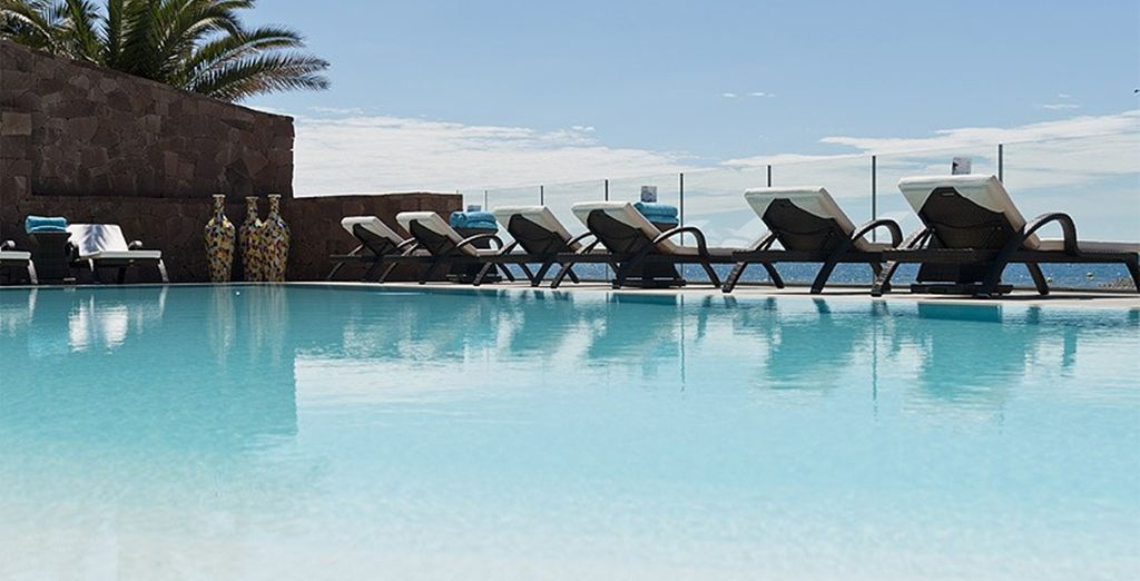 Then head down to the pool to soak up some sunshine...