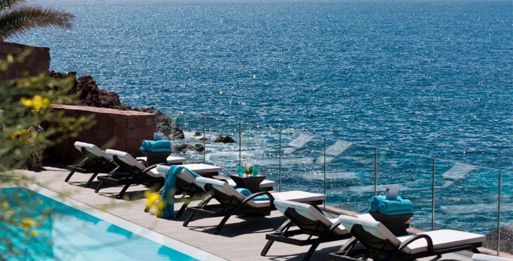 And incredible sea views