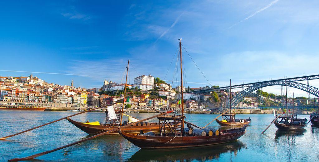 Discover sunny Porto - Crowne Plaza Porto 5* Porto