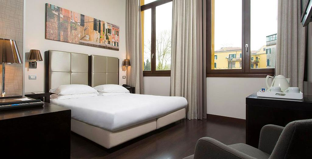 Stay in a Deluxe Room at the Best Western Premier Hotel Sant'Elena
