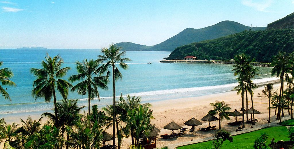 Then end your stay on the pristine beaches of Phan Thiet