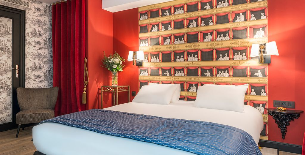 Or a striking Superior Room!
