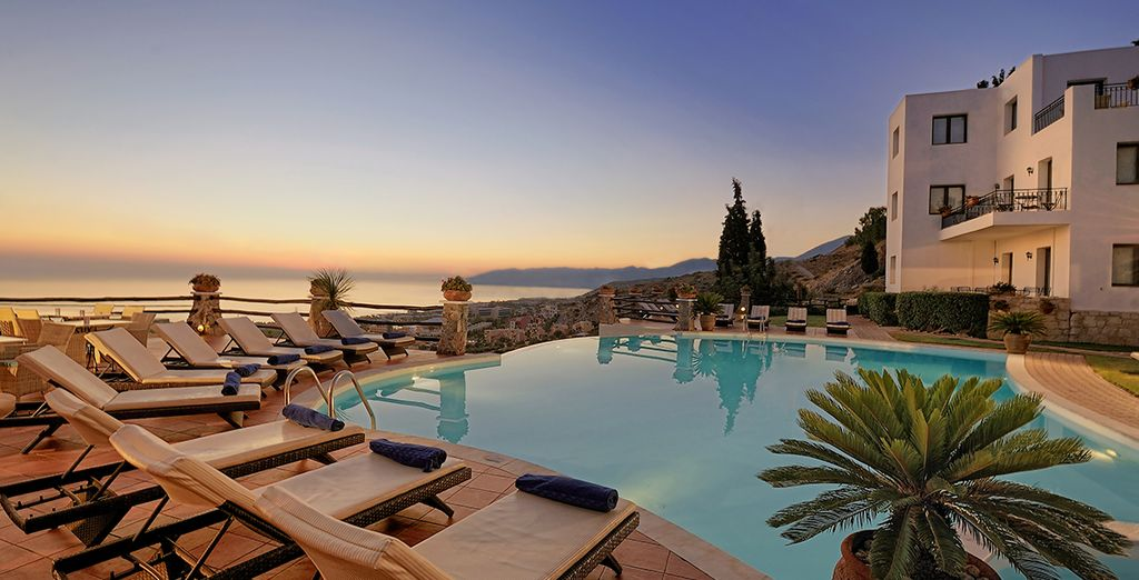 Enjoy a magnificent stay in Crete