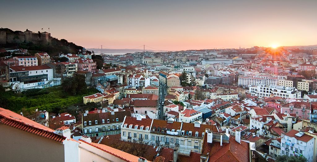 You are just 30 minutes from Lisbon city centre - why not add car hire to explore?