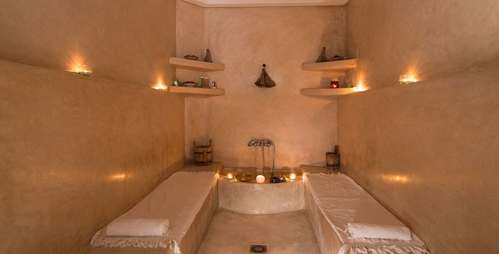 Or indulge with a spa treatment