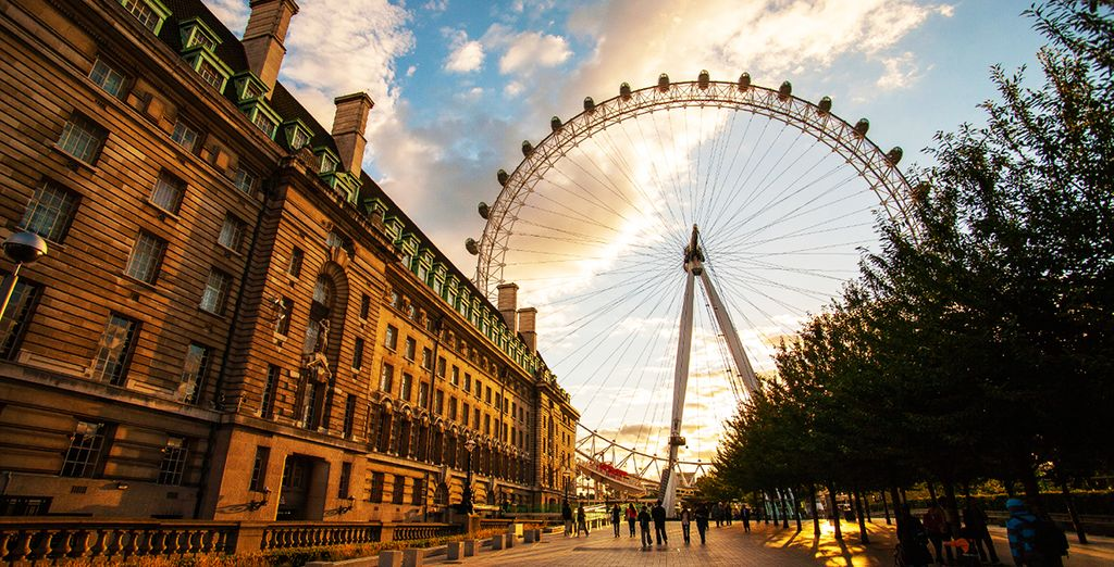 Discover one of the capitals of the world - Danubius Hotel Regent's Park 4* London