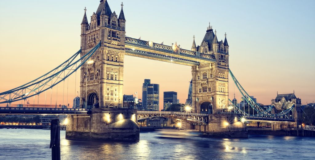 Including the iconic turrets of  Tower Bridge are just down the road!