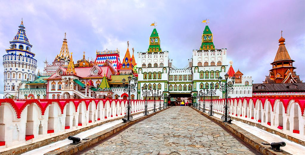 Head out and explore the colourful city - The Two Capitals Of Russia 4/5* Moscow