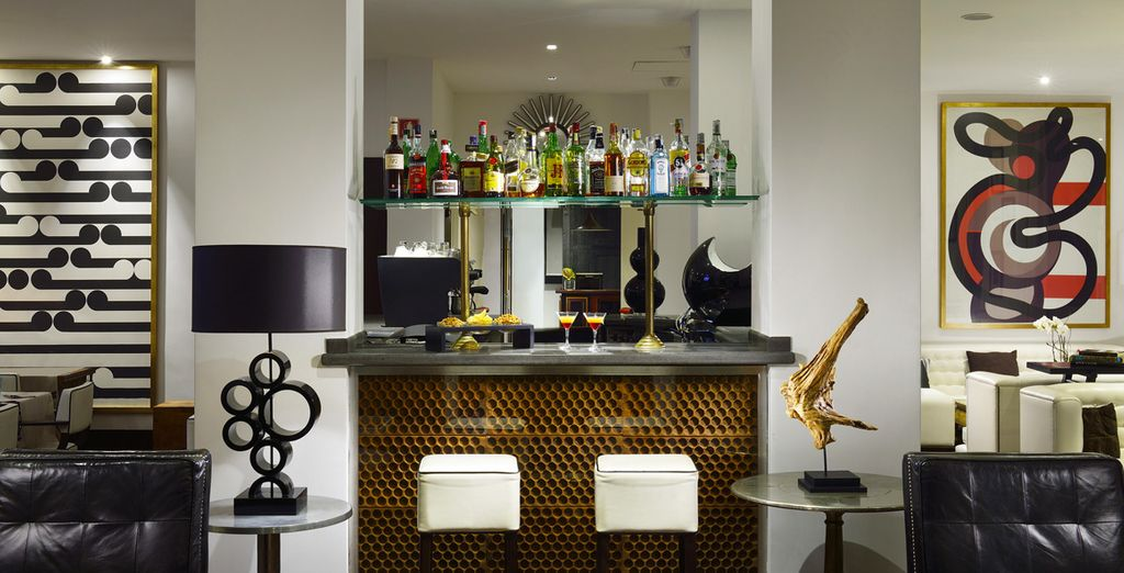 On your return, take a break at the hotel bar
