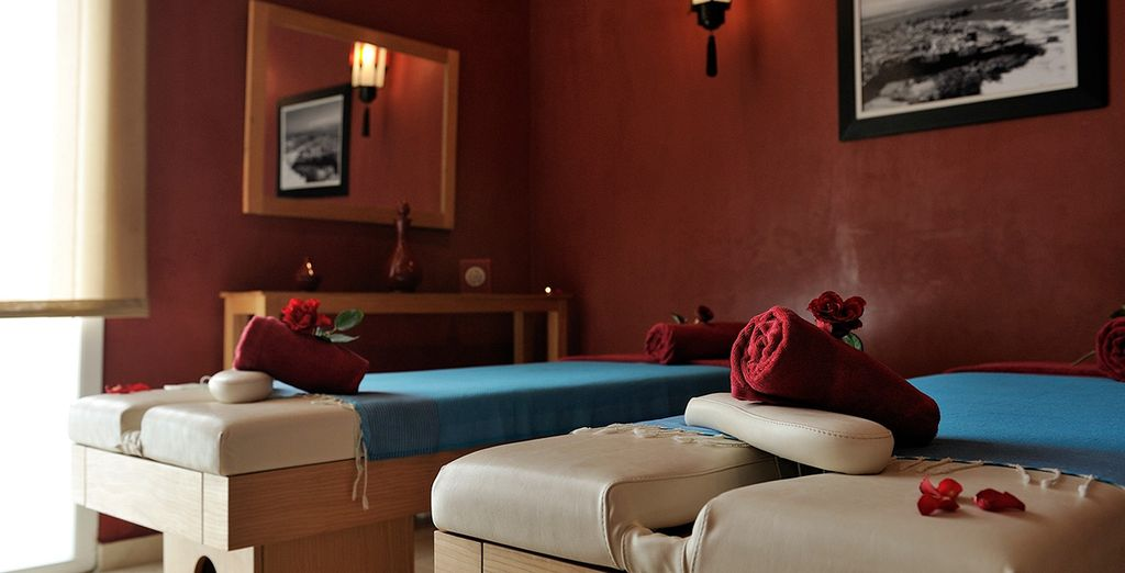 Indulge with a relaxing spa treatment on your return