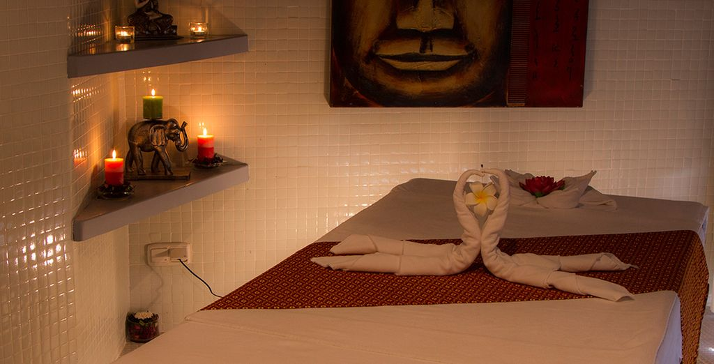 Unwind in the Thai spa