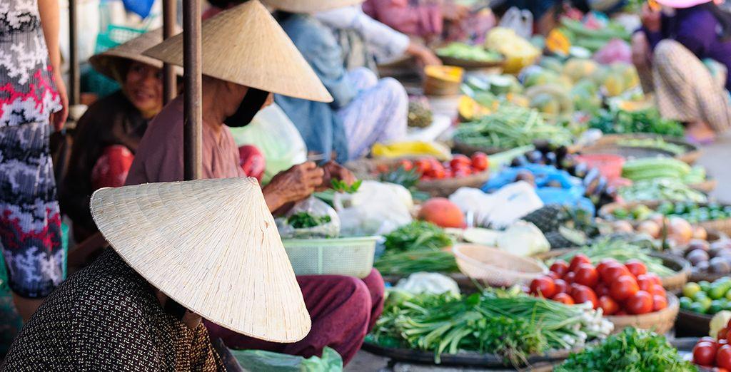 And bustling Ben Thanh Market