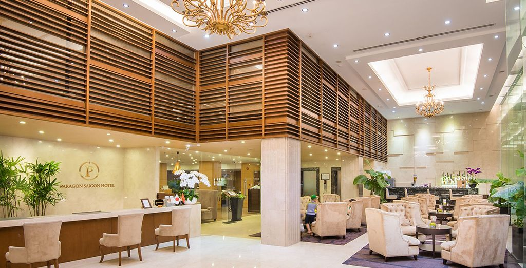 Your base will be the 4* Paragon Hotel