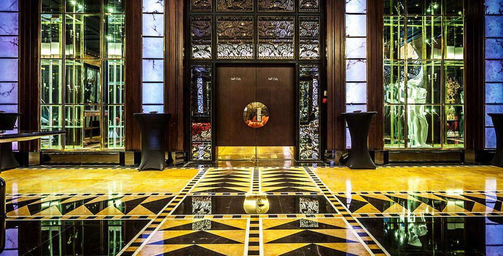 A luxury 5* hotel