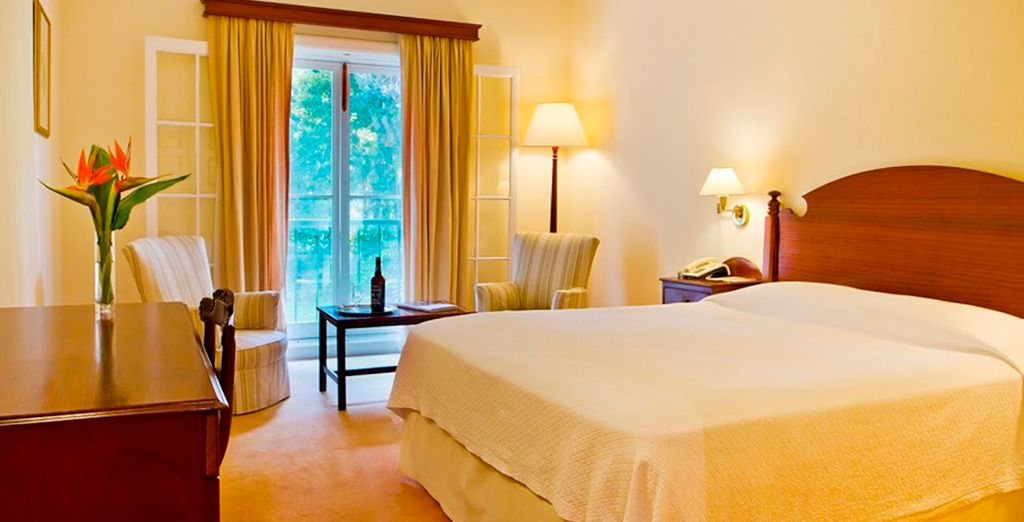 Stay in a Twin Garden View Room