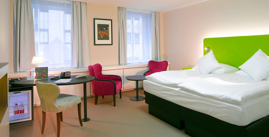 To your spacious Club Room