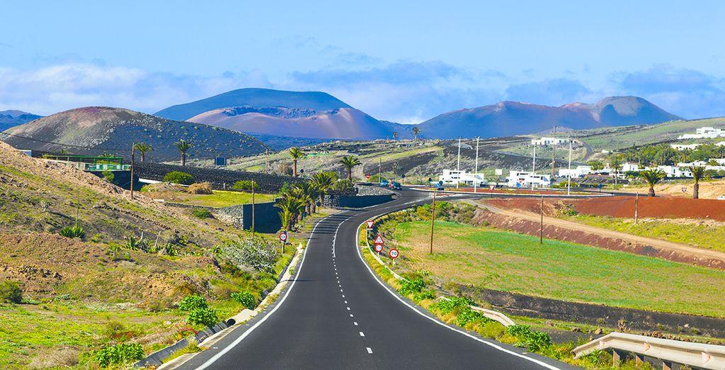Explore the island's extraordinary geology of 300 volcanic cones