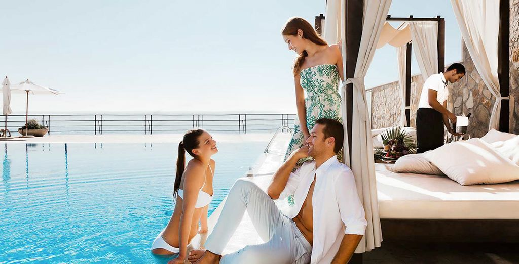 Pamper yourself at the pool or the spa