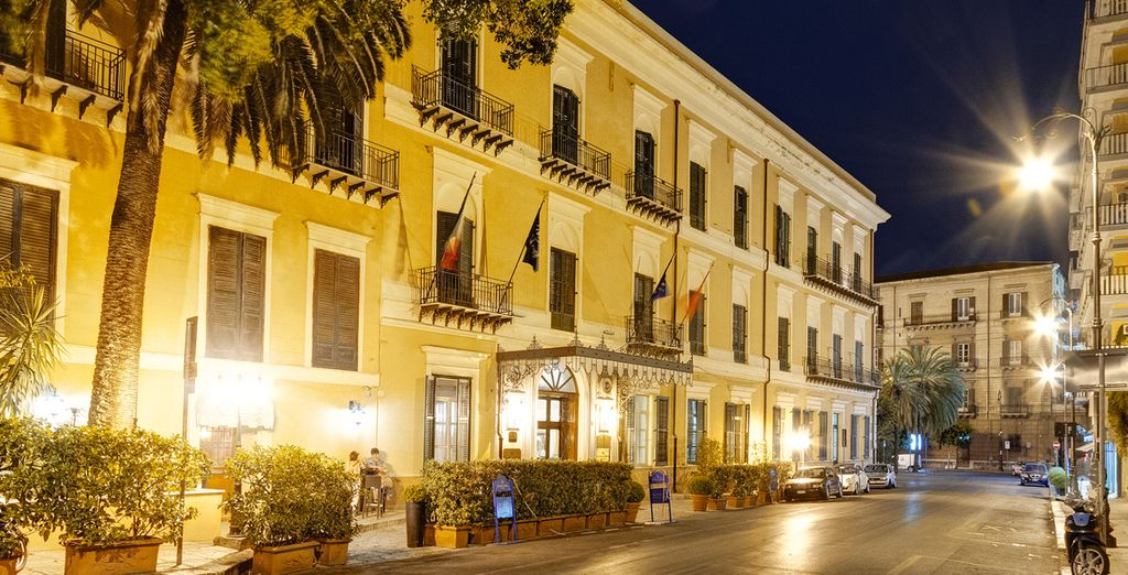 Located in the old city of Palermo