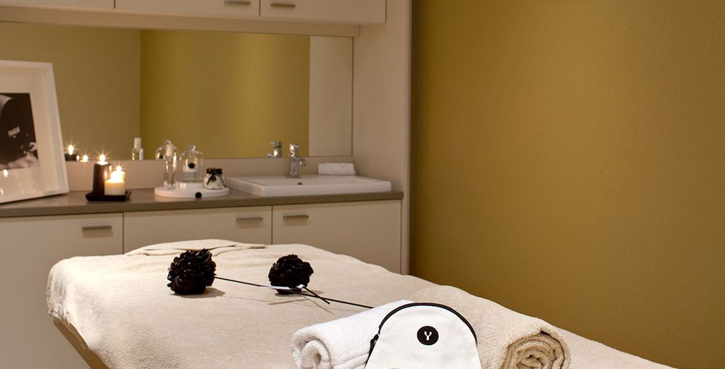Treat yourself to a well-deserved massage or spa treatment