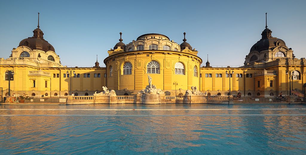 Do not miss the thermal baths for a little relaxation