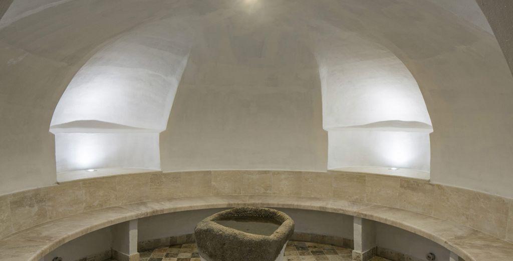 Rejuvenate at the alluring spa