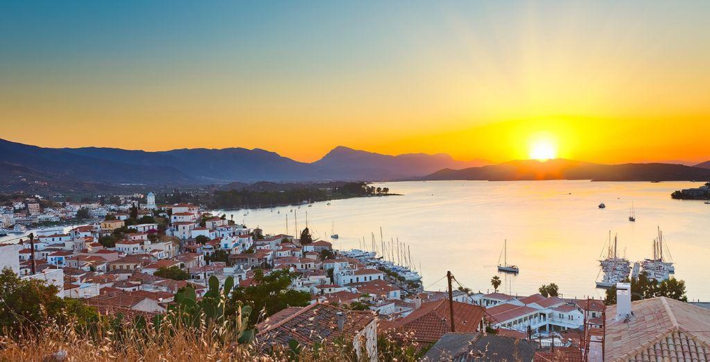On the quiet Saronic Island of Poros