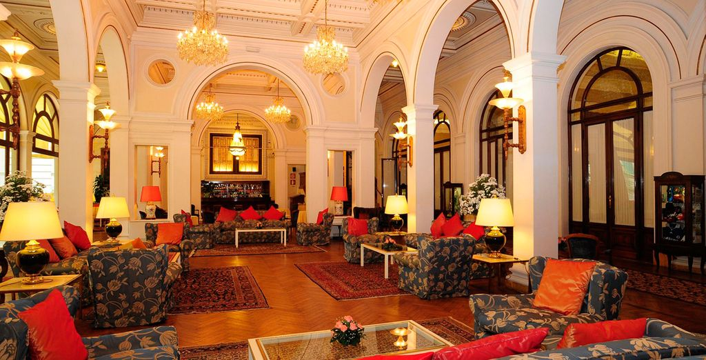 This lavishly styled hotel has been a favourite for celebrities and royalty since its opening in 1870