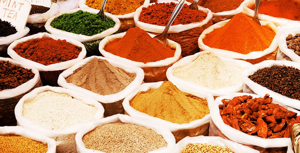 Why not add a Spice Tour? (optional excursion)