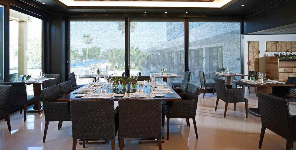 There's a plethora of restaurants on other, from ultra chic...