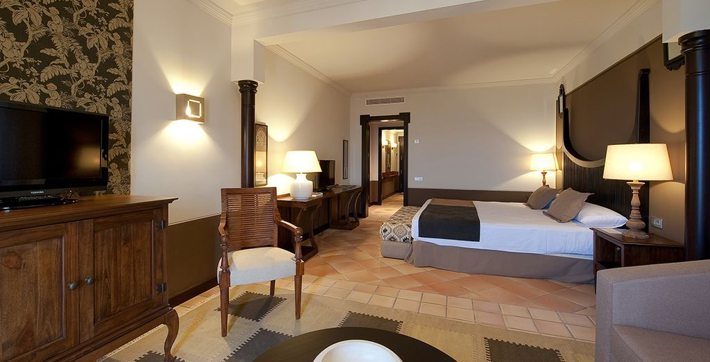 Choose from a spacious Melia Room