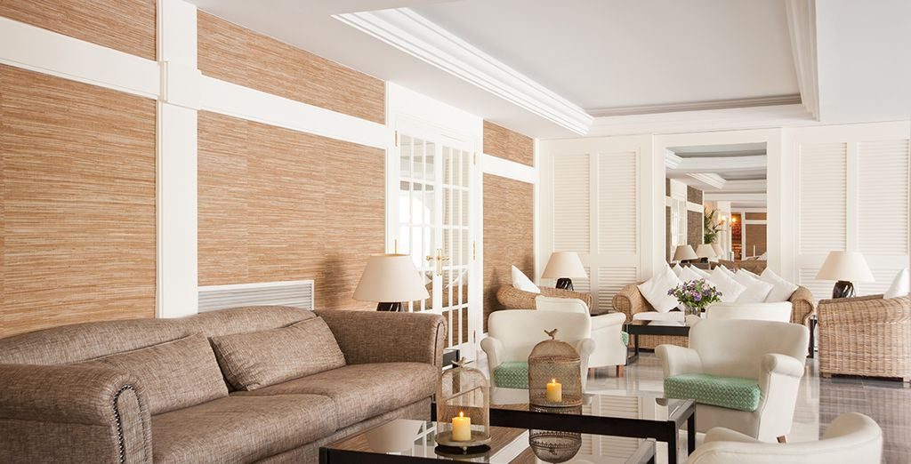 Where you will be greeted by light and airy interiors...