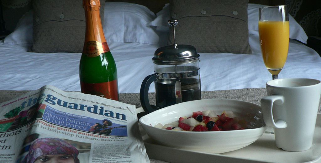 Or book a 'Lazy Duvet Day' with the hotel for a really indulgent stay!