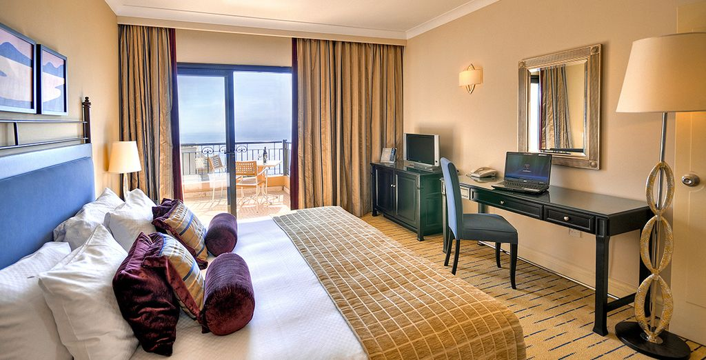 Where you'll be upgraded to an Executive Sea View Room