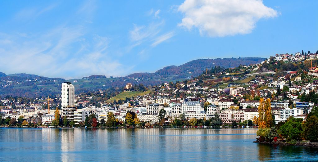 Set in the pretty and charming town of Montreux