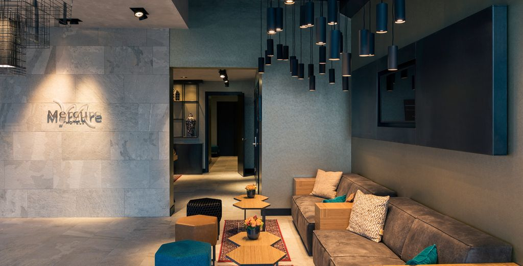 Each room features a chic design