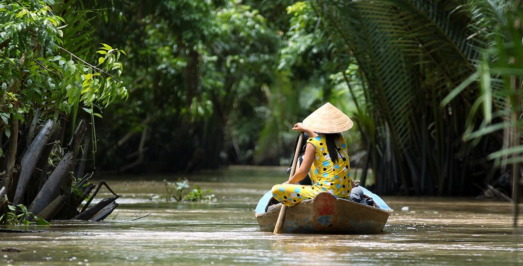 Cruise down the Mekong Delta....