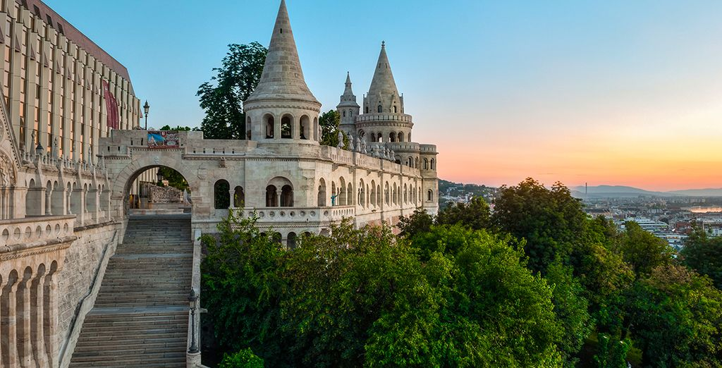 Surrounded by the cultural delights of Budapest