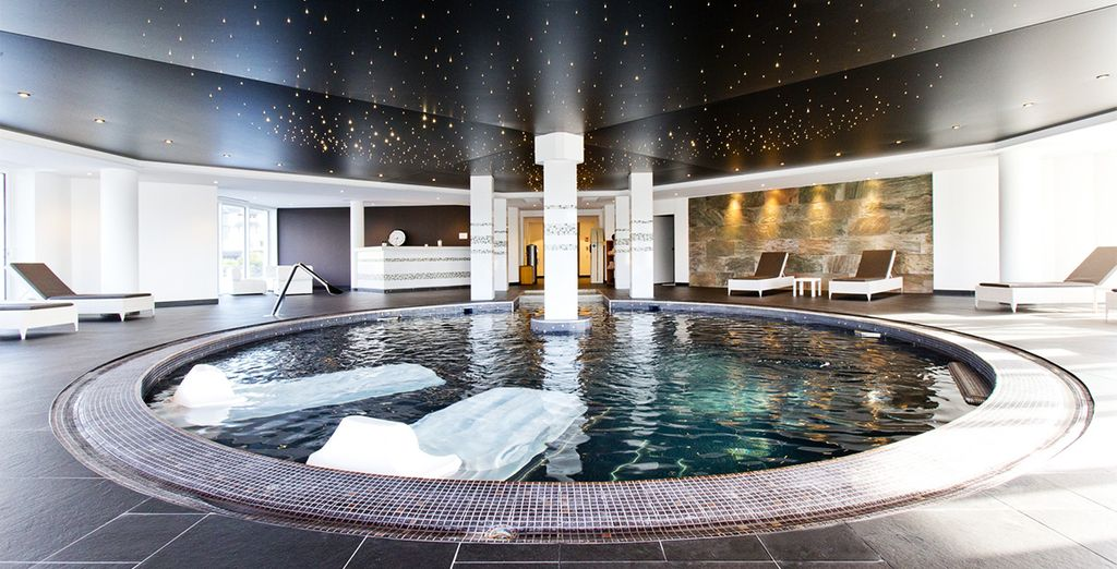 Indulge at the expansive spa