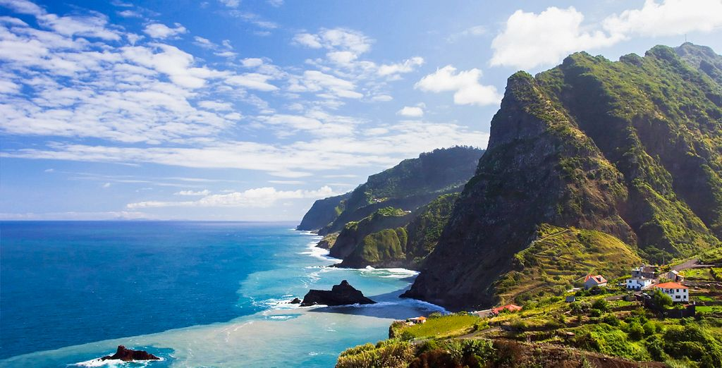 On the lush green island of Madeira