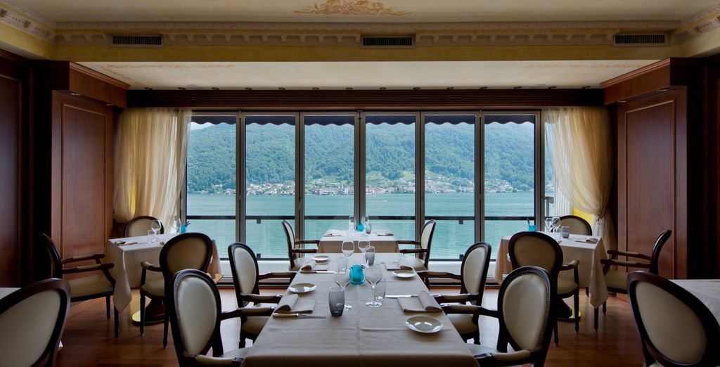 In winter, Panorama Restaurant will be the place for exquisite cuisine