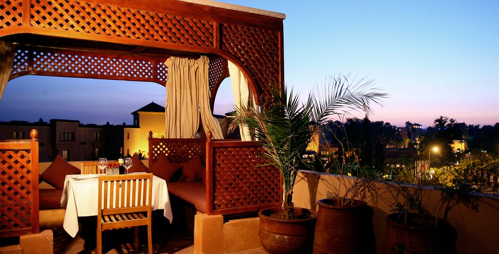 A beautiful and Moroccan style hotel