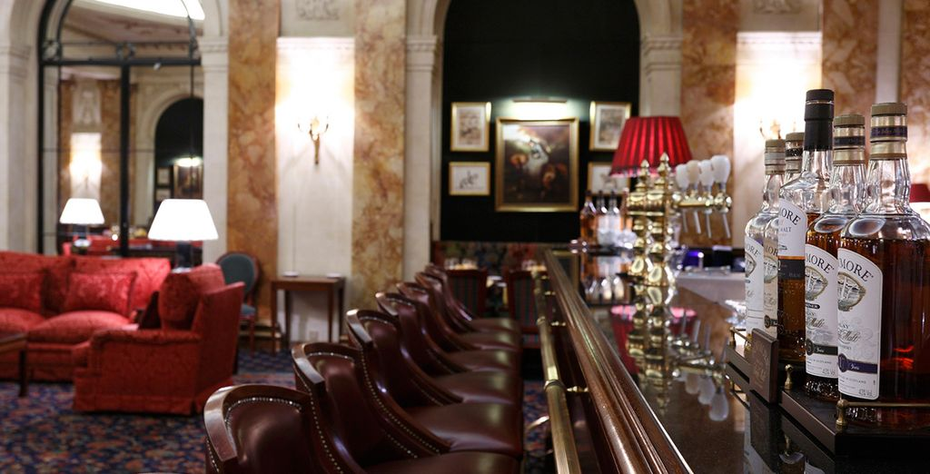 Return to your hotel in the evening to wind down at the bar
